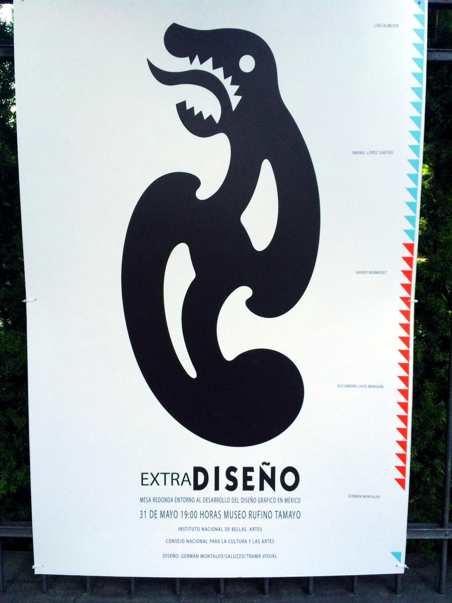 34 Mexican poster street art design plakat meksykanski projektowanie uzytkowe sztuka uliczna FORelementspl