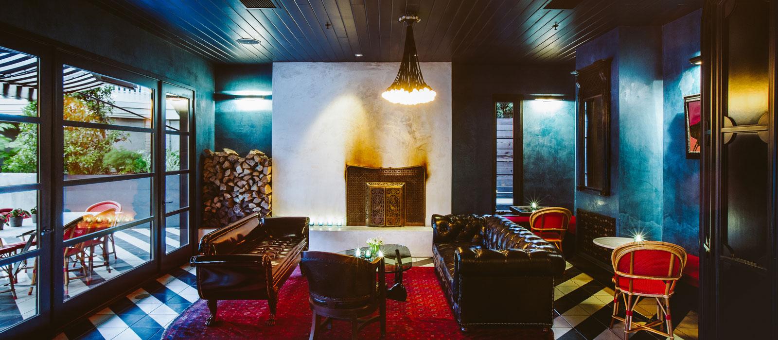 4 Hotel Saint Cecilia Austin Texas loungfe and bar interior design vintage apartment ciekawe wnetrza hotelowe styl amerykanski