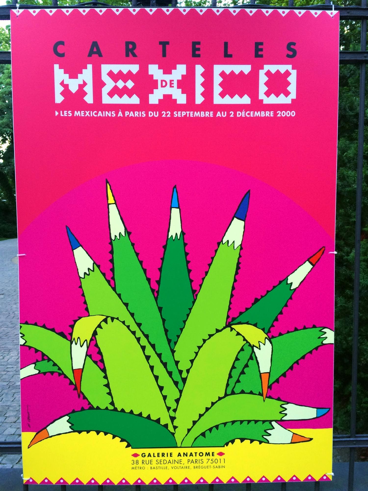 6 Mexican poster street art design plakat meksykanski projektowanie uzytkowe sztuka uliczna FORelementspl
