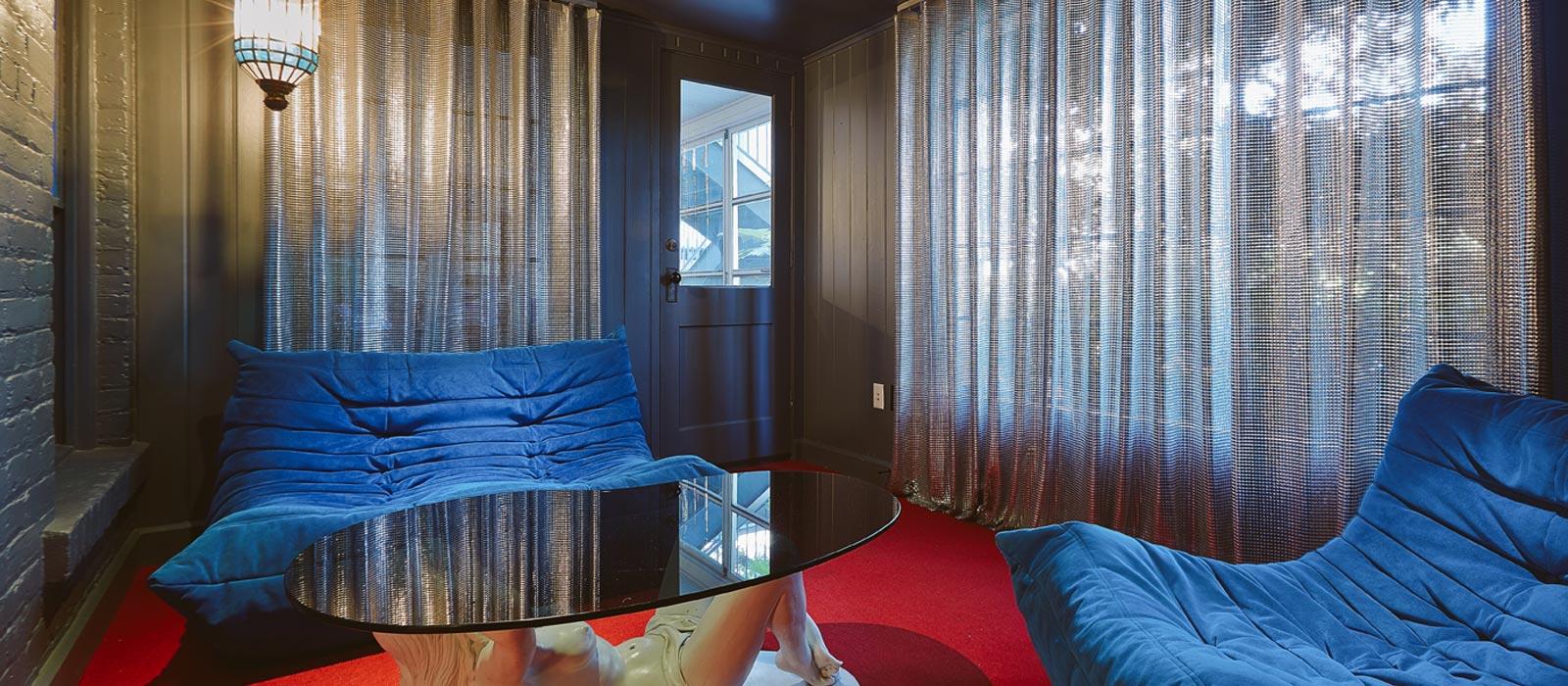 6 suite 5 Hotel Saint Cecilia Austin Texas interior design vintage apartment ciekawe wnetrza hotelowe styl amerykanski