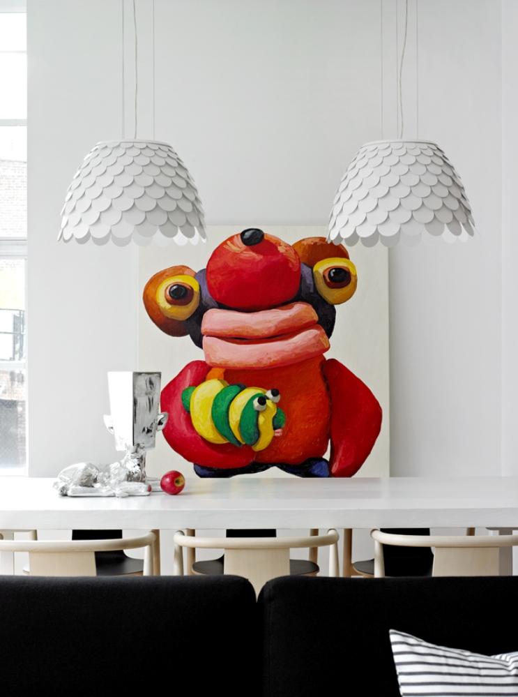7 ghislaine vinas interior design modern apartment pop art style colorful home nowoczesne wnetrze kolory w pokoju