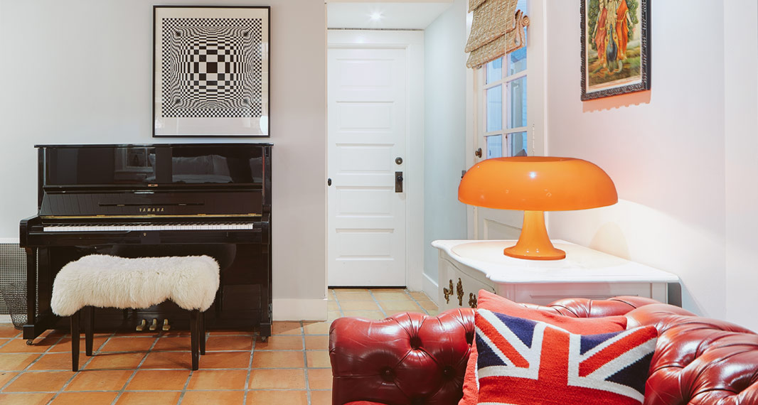 7 suite 5 Hotel Saint Cecilia Austin Texas interior design vintage apartment ciekawe wnetrza hotelowe styl amerykanski