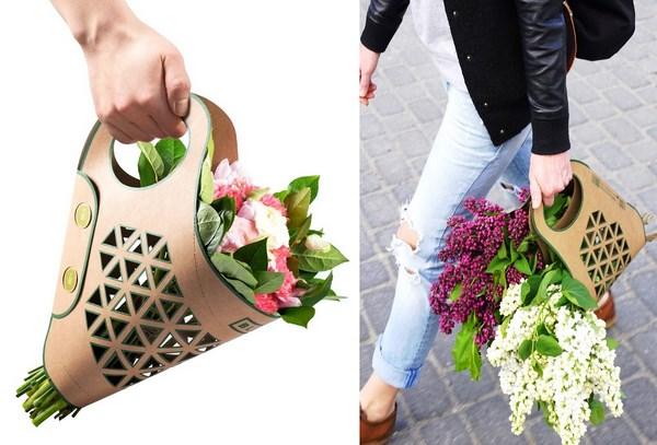 must have, Bluma Paper bag for flowers projekt Adam Groch festiwal designu projektowanie polscy projektanci forelements blog