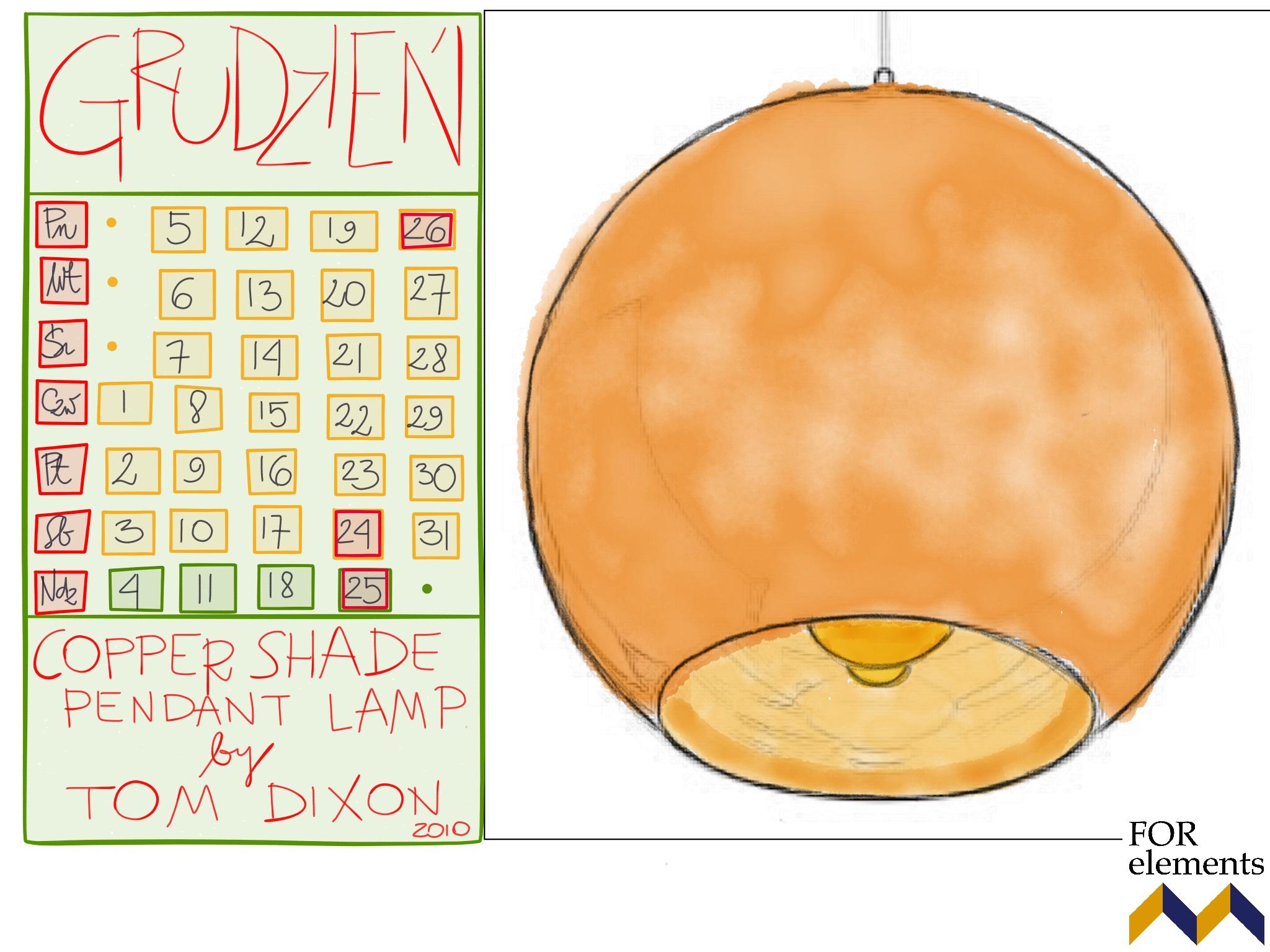 12 copper_shade_pendant_lamp_tom_dixon_calendar_2016_design_icons_furniture_interior_ideas_home_decorationg_forelements_blog