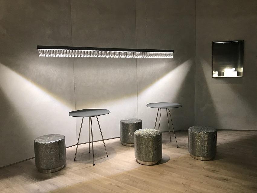 1 euroluce glaciarium swarovski light design forelements blog