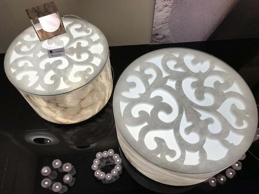 2 euroluce united alabaster light design forelements blog