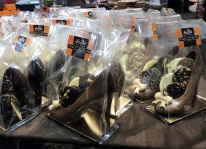 21 salon du chocolat ruby barry callebaut rozowa czekolada pokaz mody z czekolady forelements blog