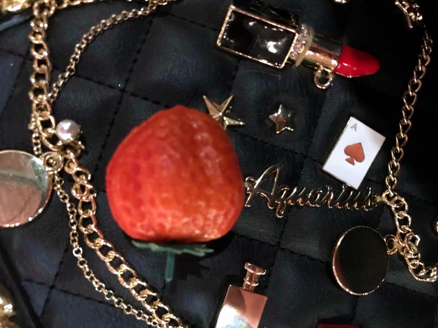 23 salon du chocolat ruby barry callebaut rozowa czekolada pokaz mody z czekolady forelements blog
