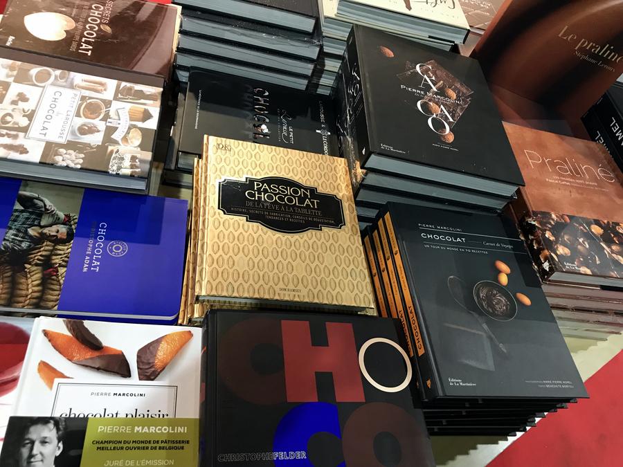 32 salon du chocolat ruby barry callebaut rozowa czekolada pokaz mody z czekolady forelements blog