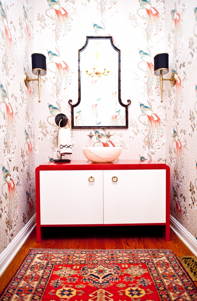 33 chinoiserie interior design oriental style furniture meble chinskie wnetrza lazienka bathroom