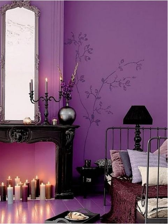 17_pantone_color_of_the_year_2014_radiant_orchid_purple_bedroom_interoir_design_purpurowa_sypialnia_projektowanie_wnetrz