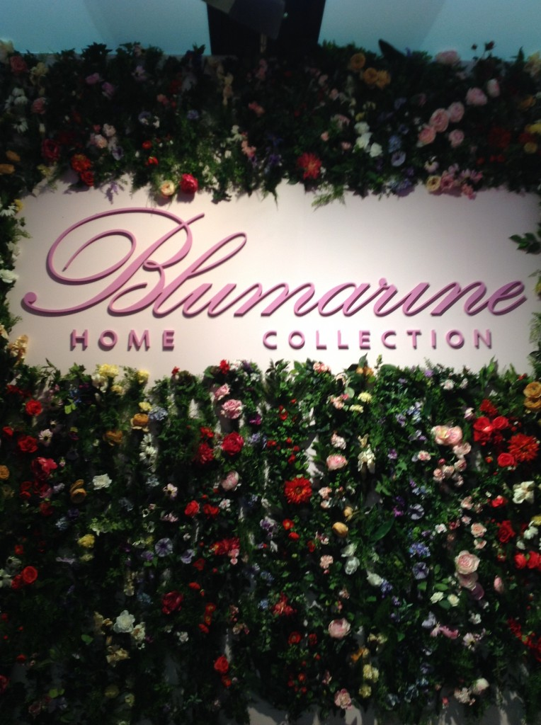1 blumarine isaloni salone internazionale del mobile targi w mediolanie home decor interior design floral patterns ekskuzywne meble wzory kwiatowe