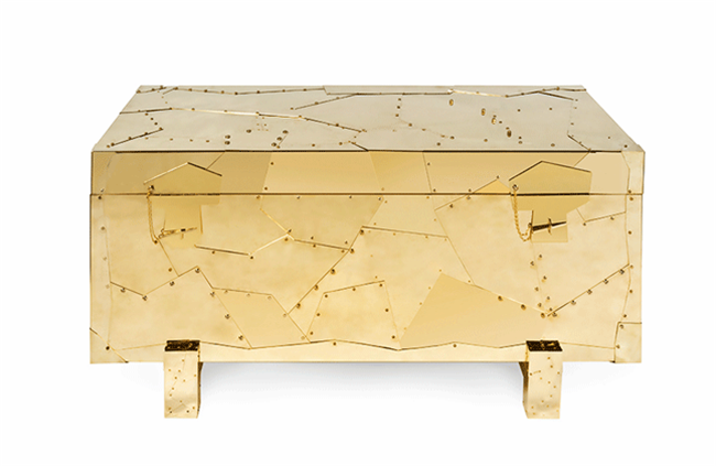 13 tortuga-chest-polished-brass-plates-modern-furniture-01 meble luksusowe