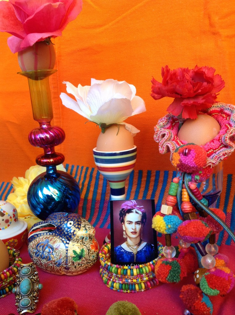 7 dekoracje wielkanocne pisanki swiateczny stol etno easter decorating easter eggs holiday table setting mexican easter ethnic boho folk styling