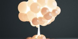 8_Mushroom_Lamp_by_h220430_jp inflatable chandelier light fixture nadmuchiwane meble nietypowe lampy funny design nietypowe projekty do domu balloon lamps
