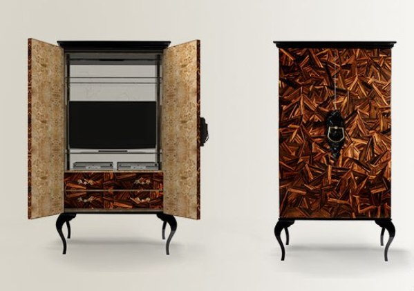 11 guggenheim modern marquetry design cabinet boca do lobo brabbu koket manufactory luxurious furniture meble luksusowe interior design handmade