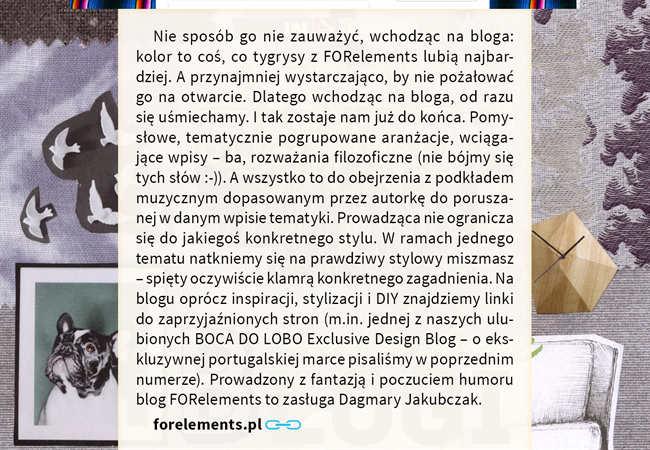 4 iN Magazyn 7-8 najciekawsze najlepsze blogi wnetrzarskie o projektowaniu wnetrz o designie the best most interesting blogs on interiors and design