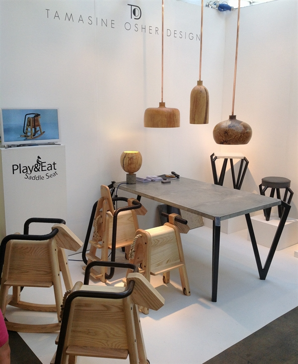 24 Tamasine Osher Design old brewery superbrands tent london design festival furniture fair targi designu designerskie meble