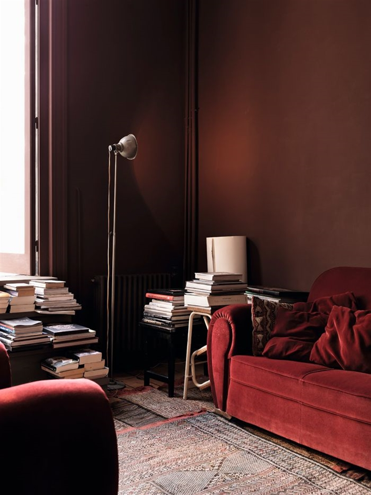 10 pantone color of the year 2015 marsala cognac kolor roku burgund interior design projektowanie ciemne kolory we wnetrzu dark hues for apartment