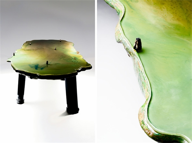 11 gaetano pesce lagoon table david gill galleries london italian furniture interior design home decor wloskie meble luksusowe projektowanie wnetrz
