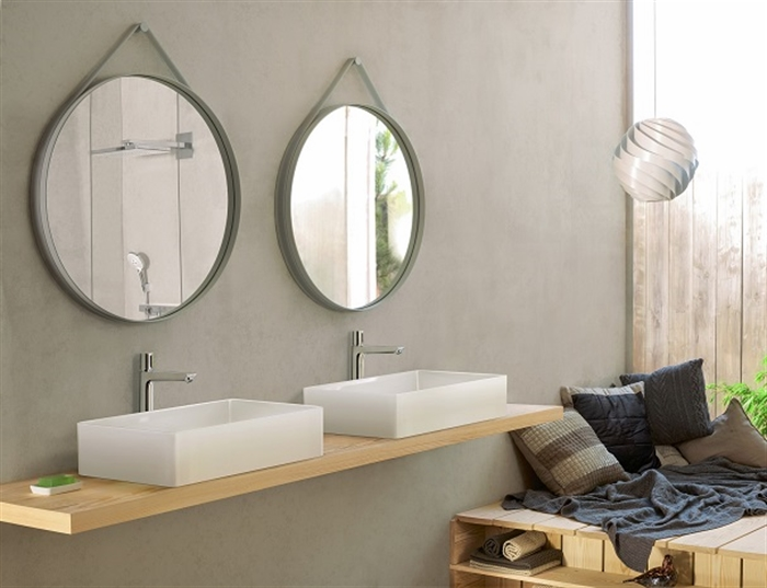 13 Hansgrohe_Talis_Select_Rainmaker_Select_Ambience philippe starck hansgrohe axor faucet bathroom design ecology green interiors