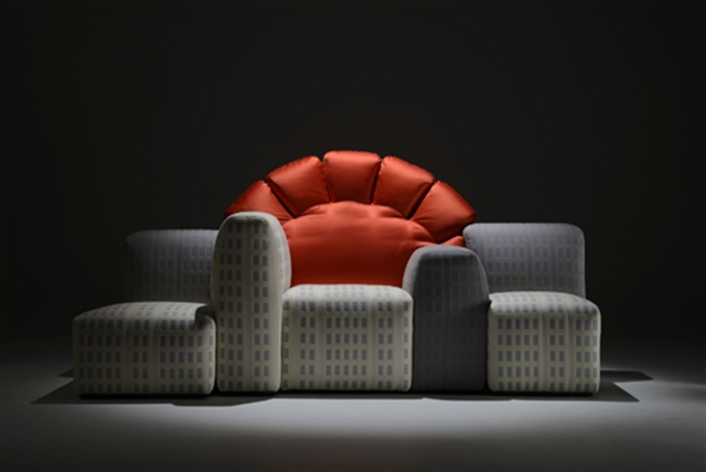 15 Tramonto a New york 1980 by Cassina, 2012 by Gaetano Pesce's Office italian furniture interior design home decor wloskie meble luksusowe projektowanie wnetrz
