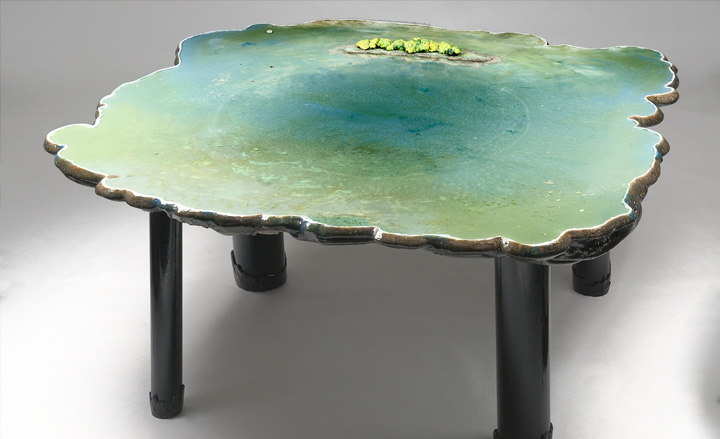 8 gaetano pesce pond table david gill galleries london italian furniture interior design home decor wloskie meble luksusowe projektowanie wnetrz