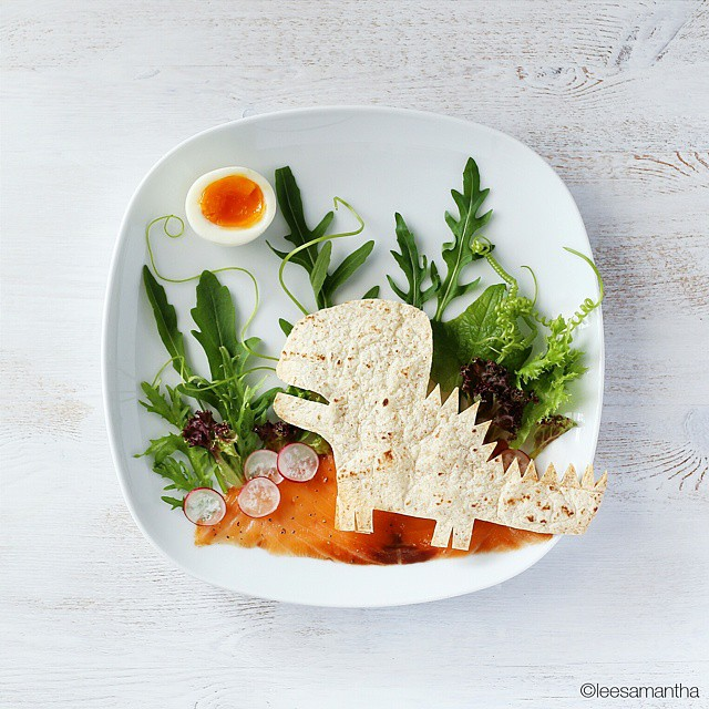 11 lee samantha food art design funny dinner home kids party ideas table decorating