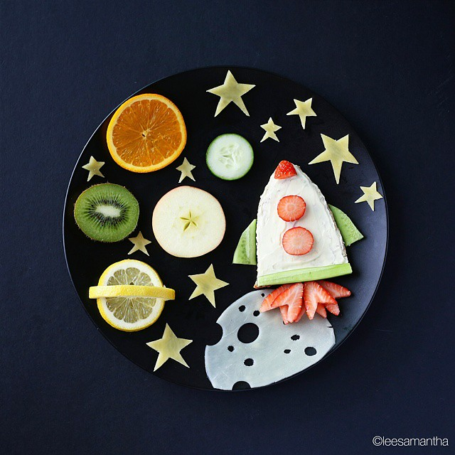 12 lee samantha food art design funny dinner home kids party ideas table decorating