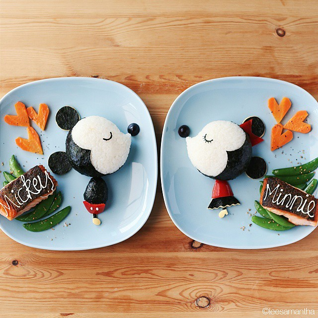 14 lee samantha food art design funny dinner home kids party ideas table decorating