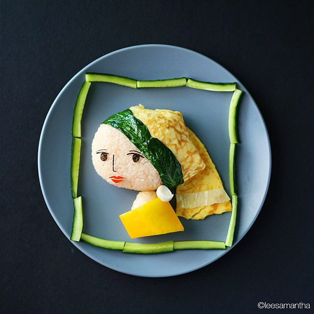 2 lee samantha food art design funny dinner home kids party ideas table decorating