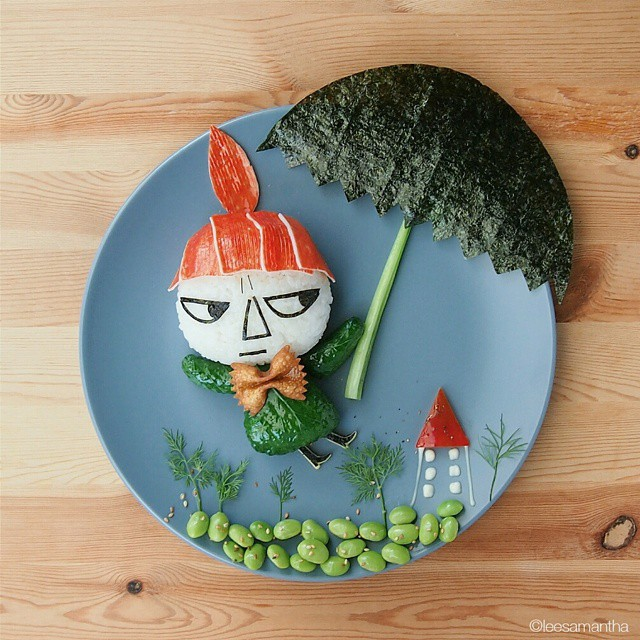 6 lee samantha food art design funny dinner home kids party ideas table decorating