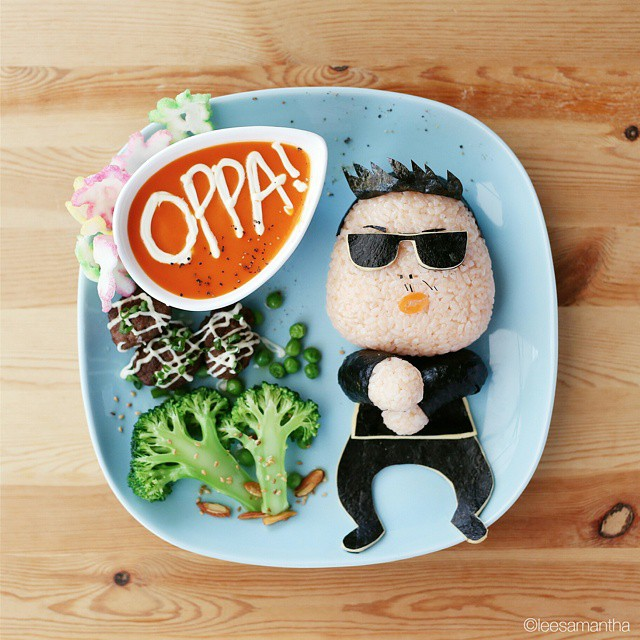 8 lee samantha food art design funny dinner home kids party ideas table decorating
