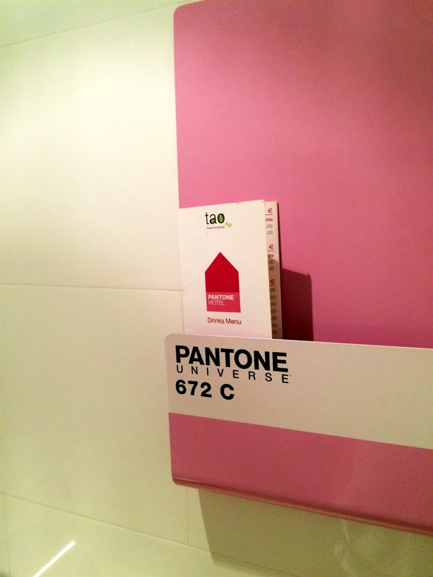 17 pantone hotel brussels design september forelements blog