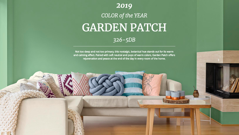 Dutch Boy 1 garden patch kolory roku 2019 design forelements blog